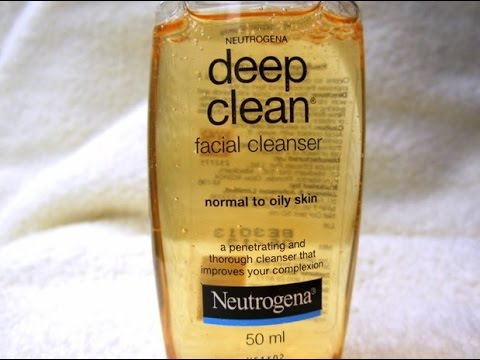 Cleanser facial deep nuetrogena clean