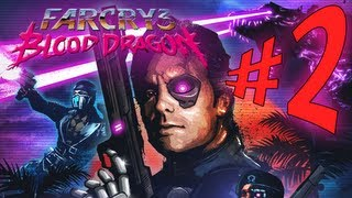 Far Cry 3 : Blood Dragon - Parte 2: O Herói Americano! SQN [ Detonado Playthrough em PT-BR ]