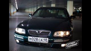 «Супер Тюнинг» Забрал Mazda Xedos 9/Millenia с ремонта порогов