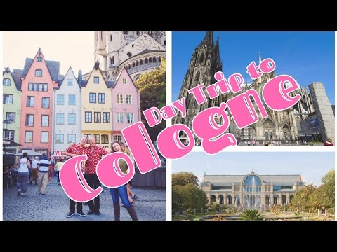 Day Trip to Cologne // Week 5 // CC Overseas Travel Vlog