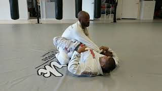 Armbar with a choke