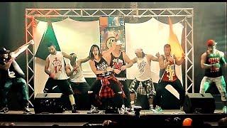ZUMBA LIVE CLASS - SALSA - QUE RICO LA PONE - CHIQUITO TEAM BAND