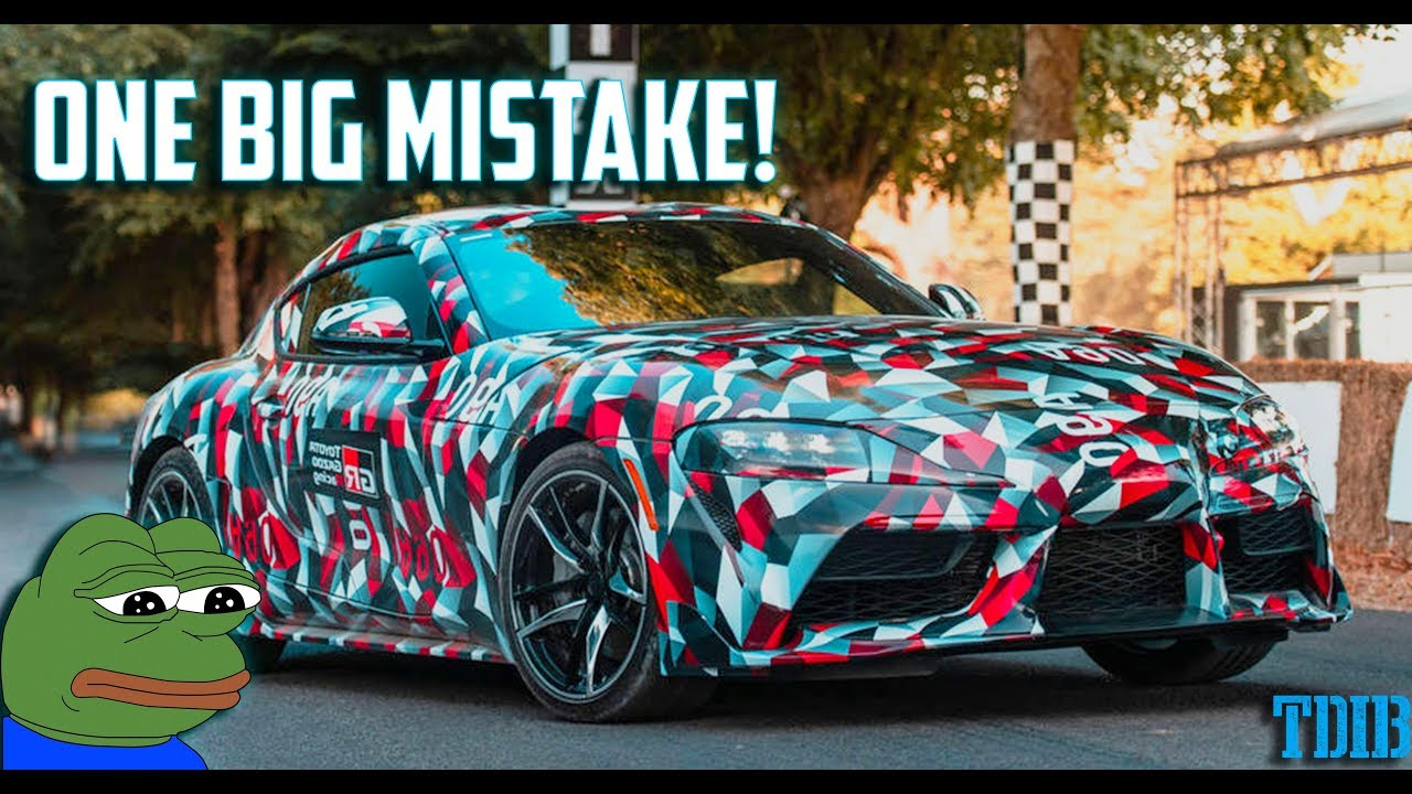 The 2019 Toyota Supra Is Set To Fail And Has One Main Problem Not