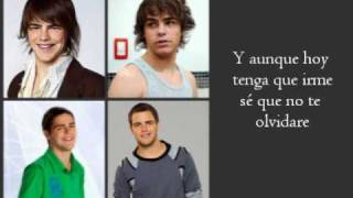 No te digo adios - Teen Angels (Casi Angeles 2010) con letra