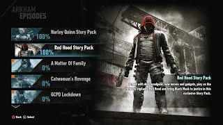 Batman: Arkham Knight: Red Hood story pack - 1080p 60fps - No commentary