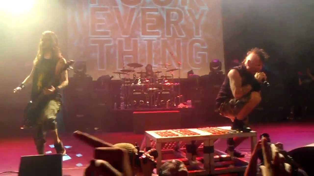 Mitch Lucker Memorial Show - Fuck Everything 12/21/2012 ...