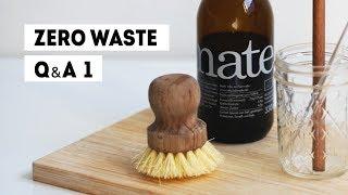 Ответы на вопросы про мусор, пластик и компост | Часть 1 | Ноль отходов