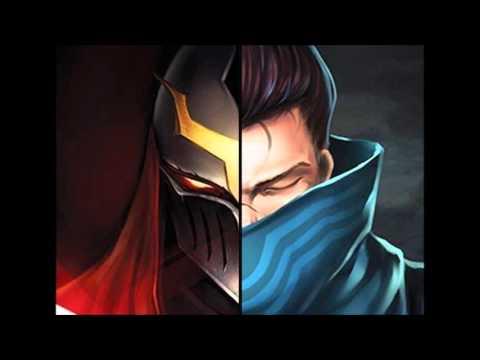 Yasuo vs Zed (Dubstep) League of Legends