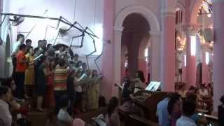 Ca Mừng Phục Sinh (Hoàng Nam) - Gloria Choir of Tan Dinh Church