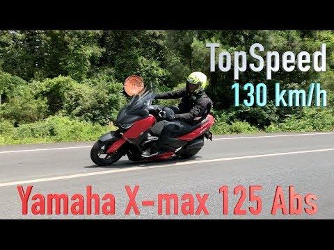 Yamaha X-max 125 Abs İncelemesi // Topspeed // 125cc Maxi Scooter