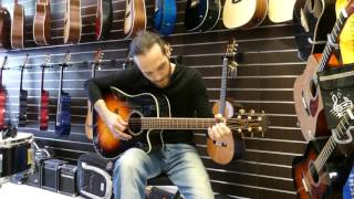 Takamine GD51CE-BSB Acoustic guitar Demo