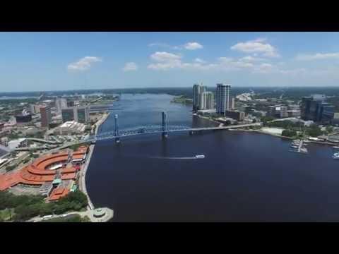 Must See!!! Downtown Flight! Jacksonville, FL 4K!!!