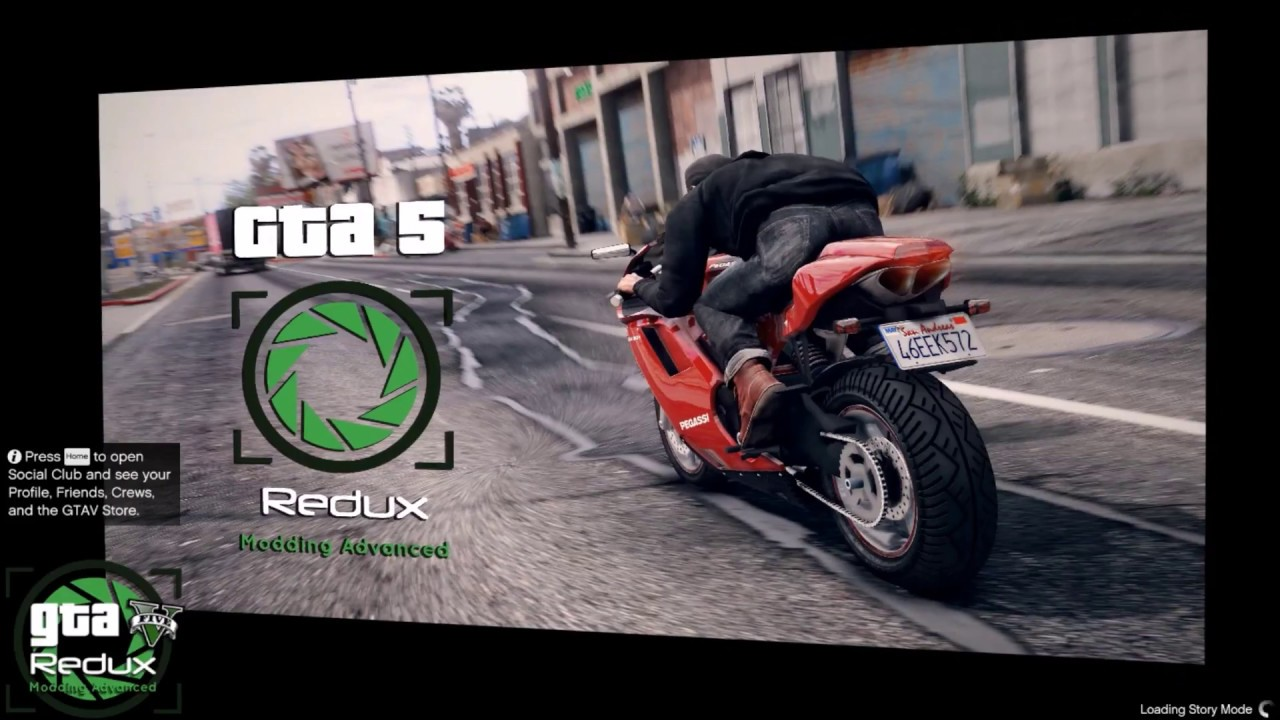 Install Redux Mod 1 3 for GTA 5 Crack/Copy 1 42 and Work All Version