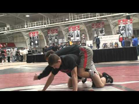 2014 Coaches Clinic Logan Stieber Arm Bars
