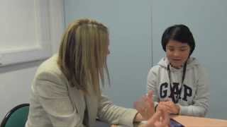 ESOL Skills for Life (QCF) Entry Level 1 - interview sample video No.1