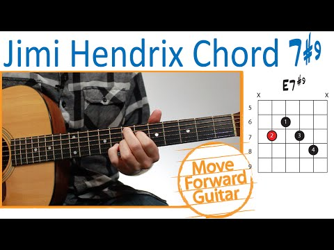 How to play the Jimi Hendrix Chord (7#9)