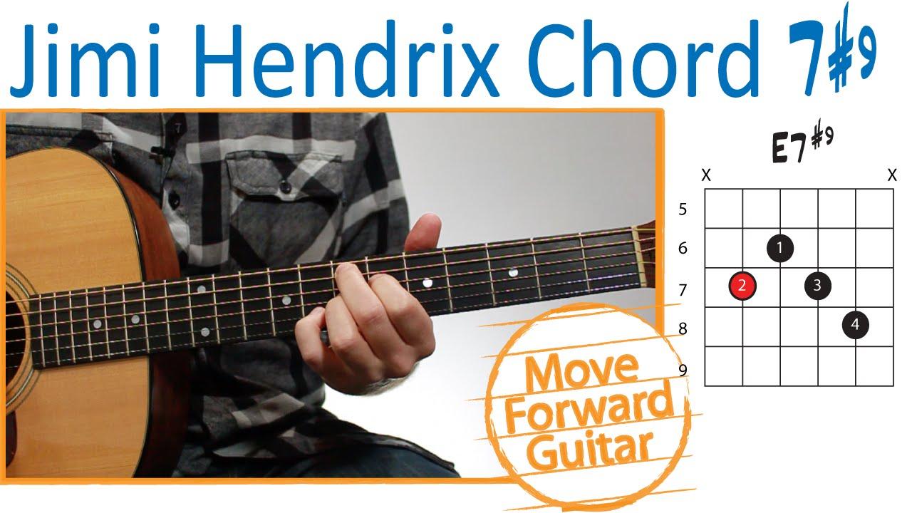 How To Play The Jimi Hendrix Chord 79 Youtube