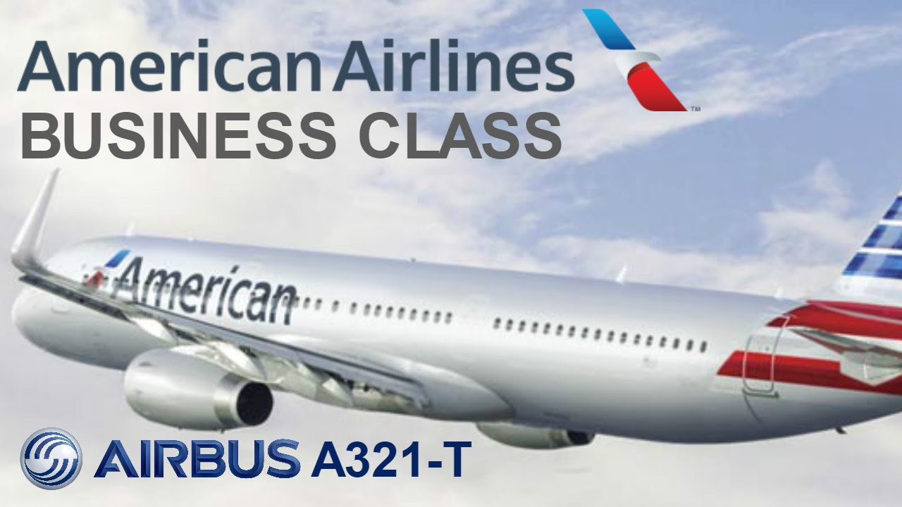 American Airlines Airbus A321 Transcontinental Business