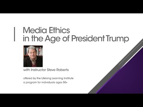 MCTV Presents: Media Ethics in the Age of President Trump