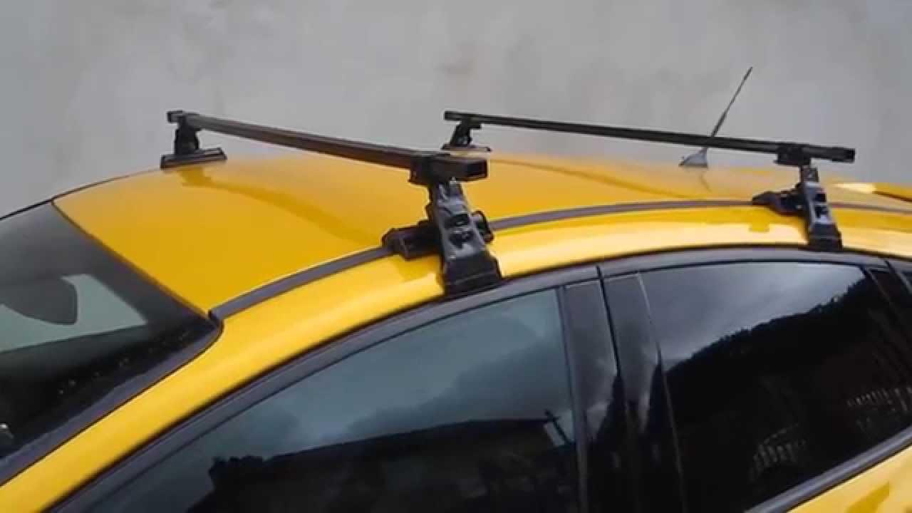 Roof Rack Bars Ford Focus 5dr Hatchback Mk3 2011 Onwards