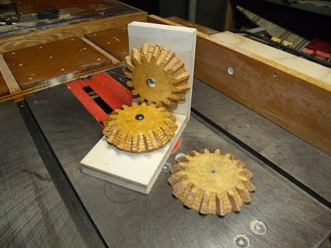 Making Wooden Bevel Gears with a Radial Arm Saw