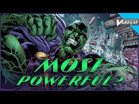 Is Martian Manhunter The Most Powerful Superhero?