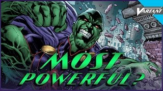 Is Martian Manhunter The Most Powerful Superhero?