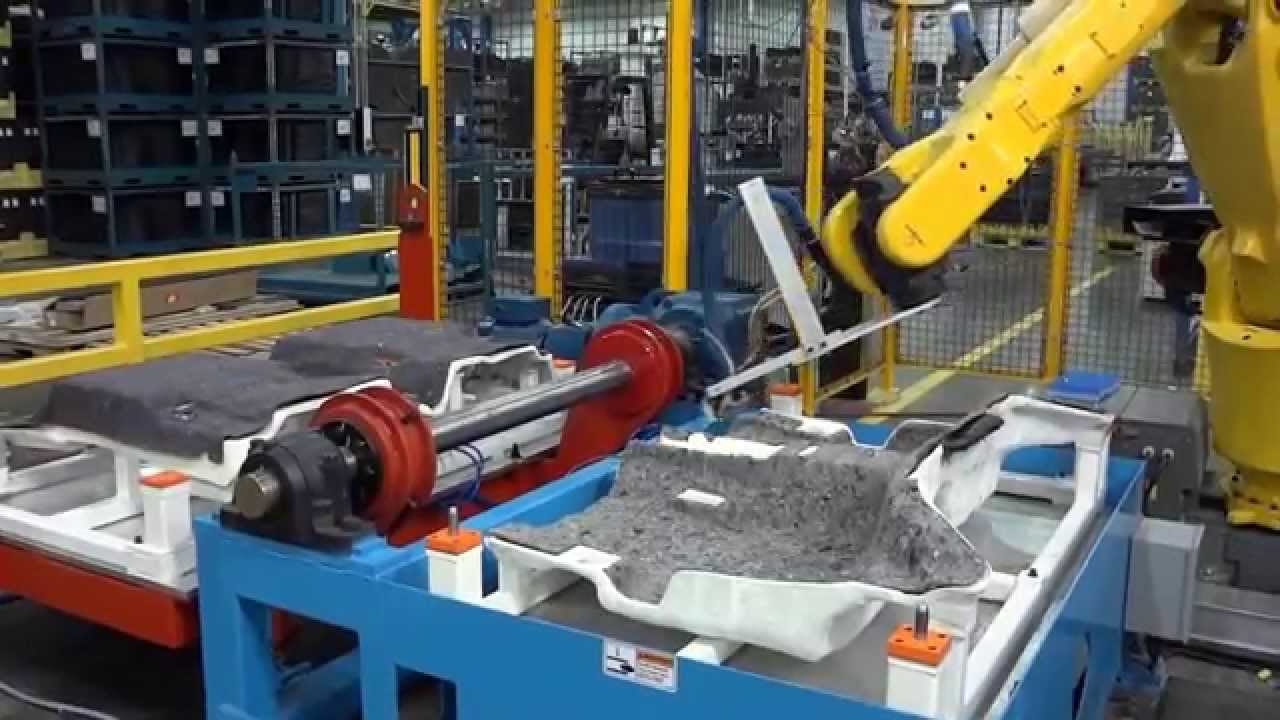 Alliance Automation Glue Dispensing Robot System Youtube