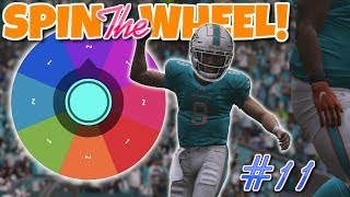 SPIN THE WHEEL!!  99 SPEED vs 0 SPEED (WHAT WILL HE GET??) Madden 19 Franchise Wheel #11