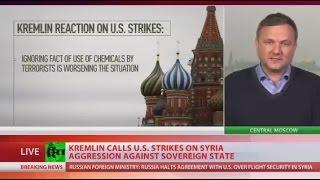 Putin believes US attack on Syria violates international law - Kremlin