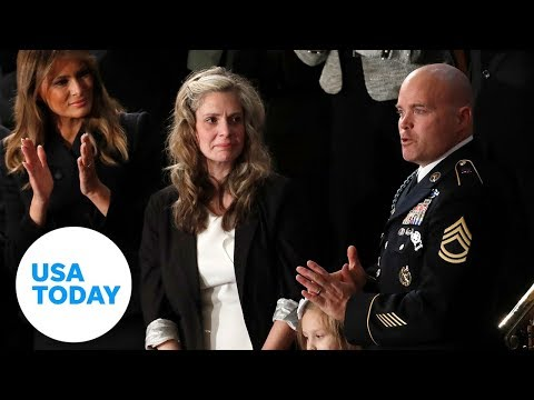 Surprise, Emotional Military Reunion For Family During State Of The Union | USA TODAY