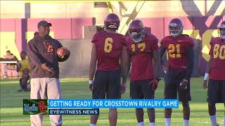 USC vs. UCLA: Rivals protect their iconic statues ahead of crosstown football clash I ABC7