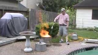 Speed lighting Old Smokey BBQ