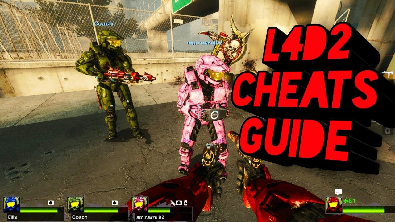 Left 4 Dead 2 Cheats Full Guide