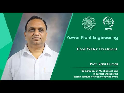 Lecture 13- Feed Water Treatment