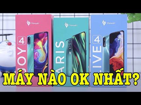 Đâu là điện thoại Vsmart ấn tượng nhất trong 3 chiếc mới ra?