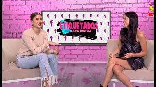 """#Etiquetados: Cande Molfese desafió a Sofía Reyes en el juego """"¿Qué tuiteaste?"""""""