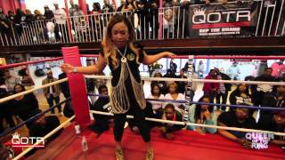 BABS BUNNY & VAGUE present QUEEN OF THE RING MS MIAMI vs LADY E