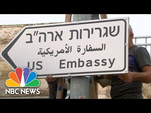 Watch Live: U.S. embassy opens in Jerusalem