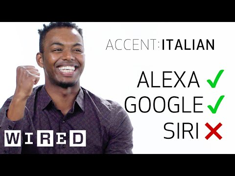 Thumbnail: 8 People Test Their Accents on Siri, Echo and Google Home | WIRED