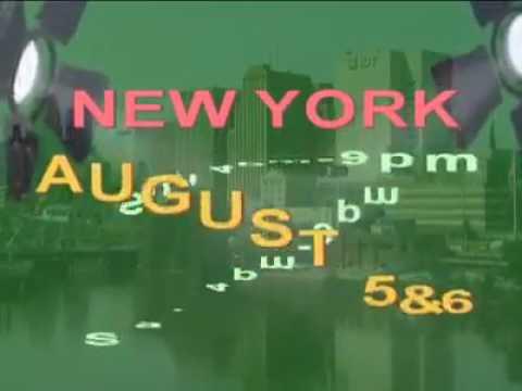 NEW YORK AUGUST 5&6 Sat 4pm-9pm Sun 4pm-9pm 2504 Broadway, New York, NY 10025 Contct info 1(347)839