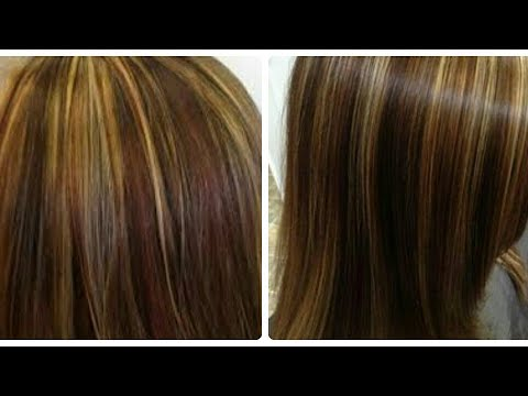 घर पे बालो को Highlight करे How To Highlight Hair At Home