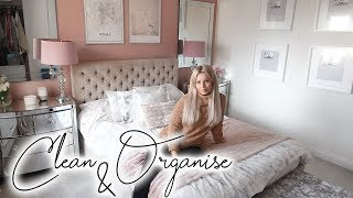 BEDROOM DECLUTTER, ORGANISE, CLEAN & NEW BUYS | Lucy Jessica Carter AD