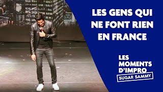 Humour: Sugar Sammy et les gens qui ne font rien en France
