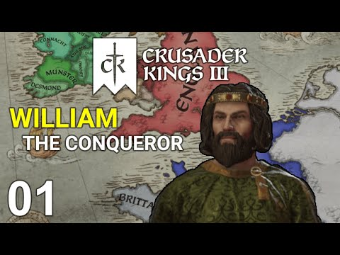 William the Conqueror #1 - Duke of Normandy - Crusader Kings 3 Campaign |