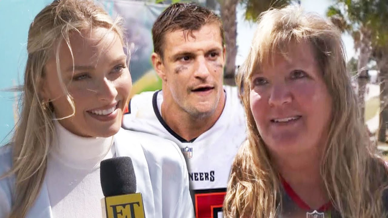Rob Gronkowski's Girlfriend Camille Kostek Dishes on Life With the 'Mama's Boy' (Excl