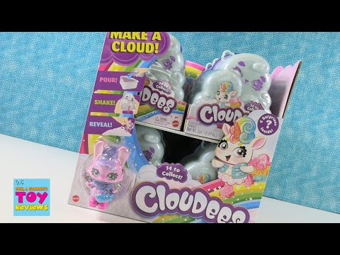Cloudees Collectible Figure Slime Cloud Unboxing Review   PSToyReviews