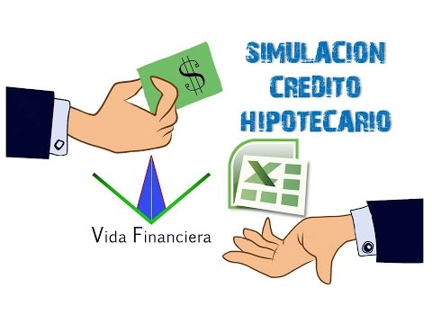 Simulación credito hipotecario y amortización