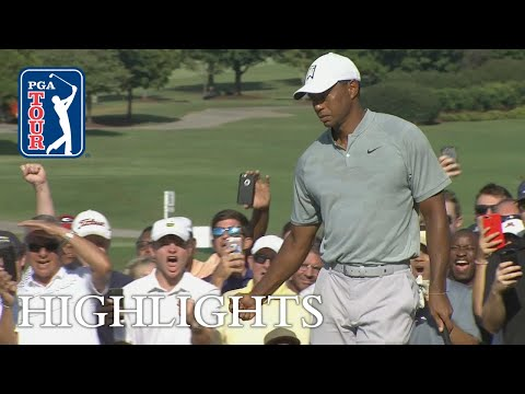 Tiger Woods' Round 2 highlights from TOUR Championship 2018