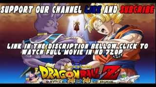 Dragon Ball Z Battle of Gods HD 720p 2013 Jap With English Subs! FULL MOVIE